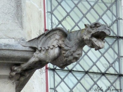 Gárgola de la Antigua Aduana de Brujas (Bélgica)
