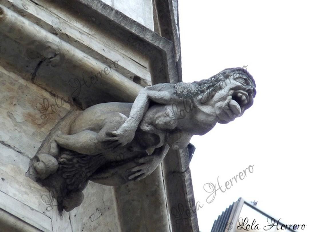 Gárgola Ayuntamiento Bruselas (Bélgica) (406)