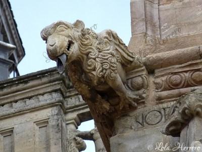 Gárgola de la Catedral de Astorga