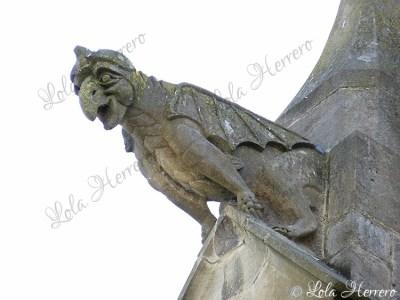 Gárgola de la Catedral de St. Maurice (Mirepoix, Francia)