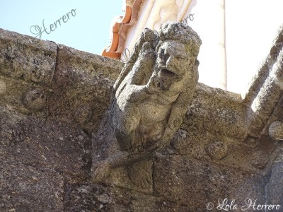 Gárgola de la Parroquia de San Pedro de Gata