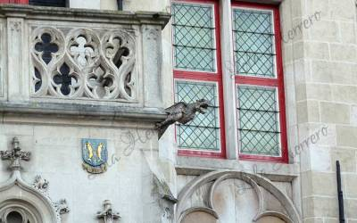 Gargoyles in Bruges (Belgium)