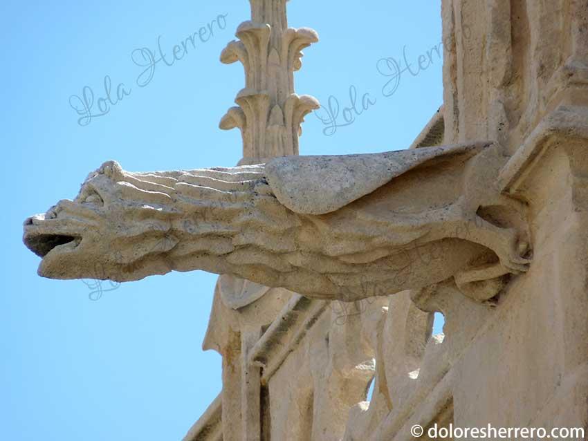 gárgolas en catedrales