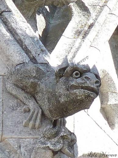 Grotesco de la Catedral de León
