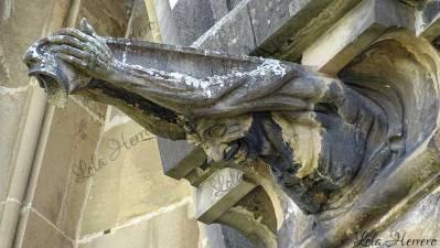 Gárgola de la Catedral de María Inmaculada de Vitoria-Gasteiz