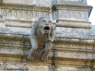 Gárgola de la Catedral de Plasencia