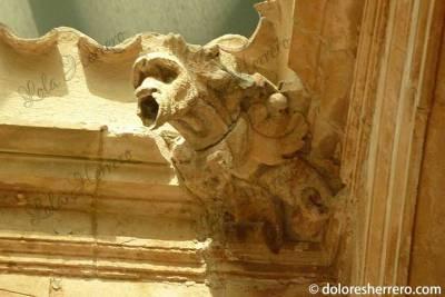 Gárgola de la Universidad de El Burgo de Osma (Soria)