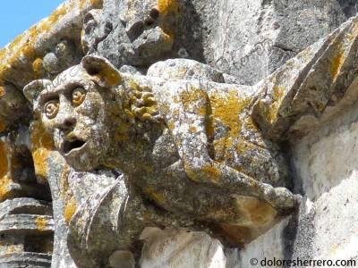 Gárgola-del-Convento-de-Cristo-en-Tomar-(Portugal)