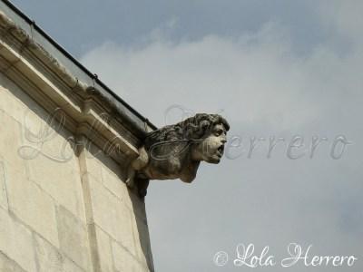 Gárgola en La Rochelle (Francia)