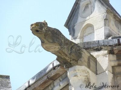 Gárgola de St Martin (Limoux, Francia)