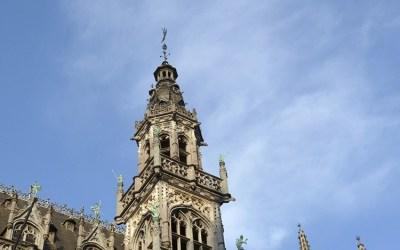 Gargoyles on La Maison du Roi in Brussels