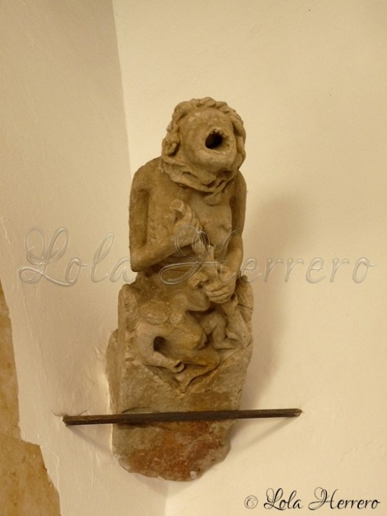 Gárgola Museo Provincial Salamanca 242