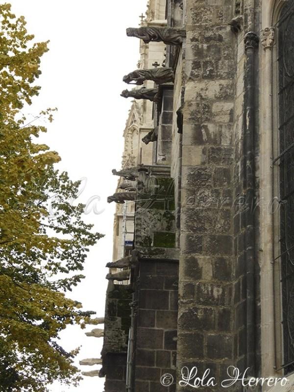 Gárgolas Catedral Burdeos (Francia) 172