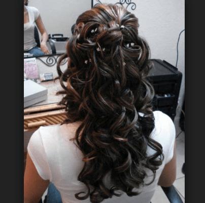 Peinados De 15 Con Rulos