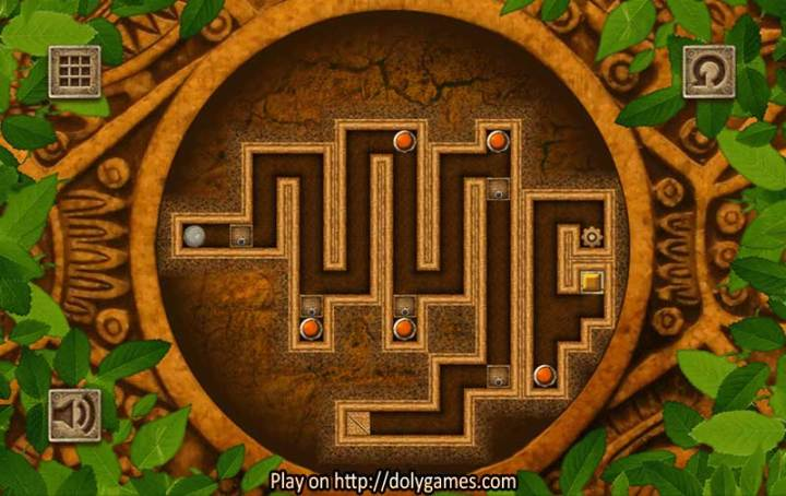 Jungle Roller Puzzle   PLAY FREE   DolyGames Jungle Roller puzzle game 5