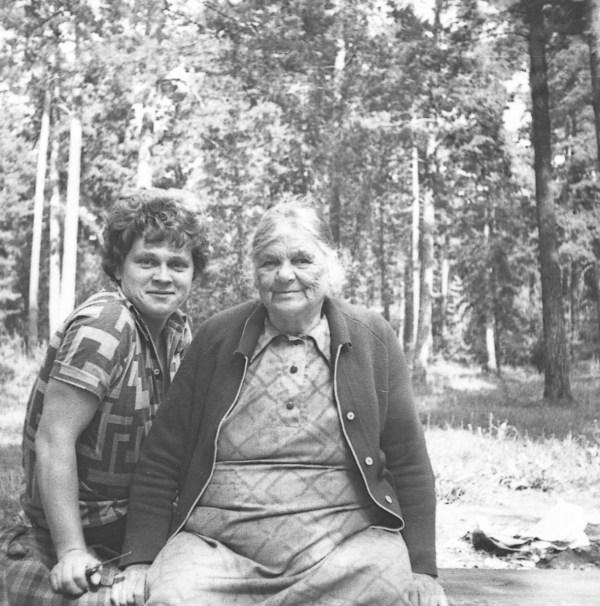Баба Лида и Алексей Поликарпов