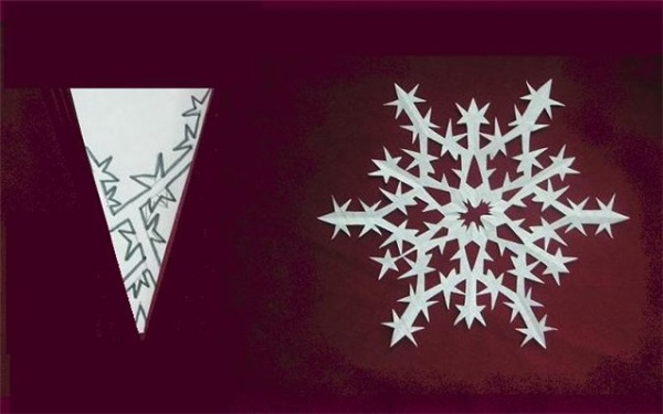 Снежинка 3а