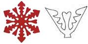 Снежинка 1