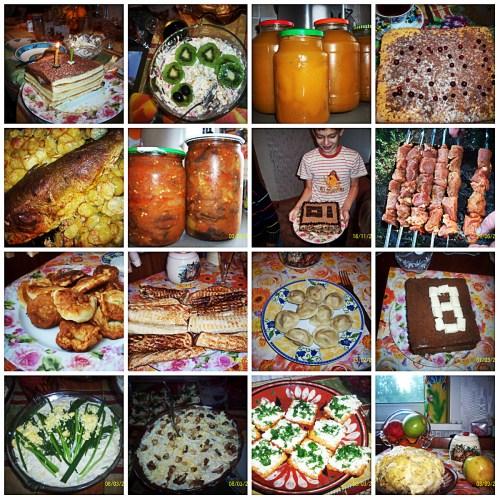 Коллаж кулинария