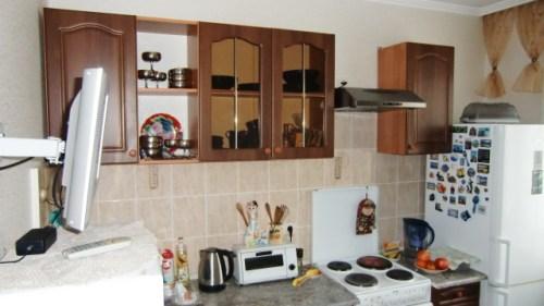 Кухня с другой стороны