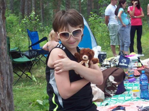 Мой сынок в Марининых очках