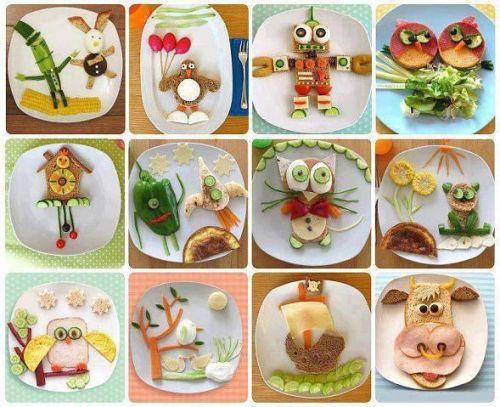 Варианты детского завтрака