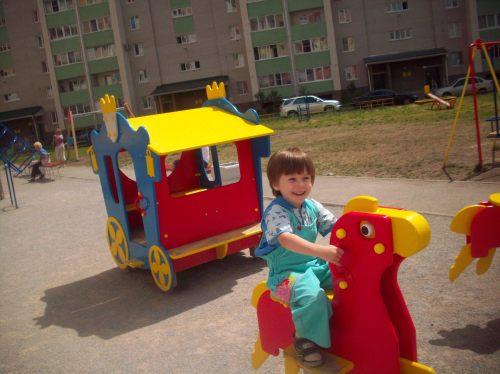 Карета и лошадь