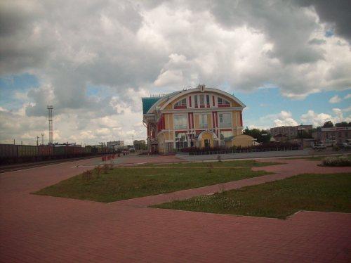 Ж/д вокзал. Бийск