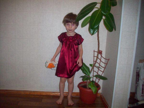 Платье спереди