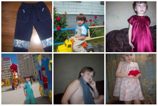 шитьё детской одежды