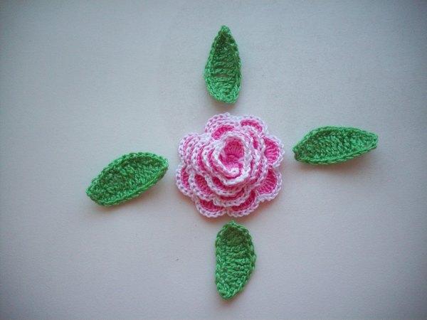 Розочка розовая
