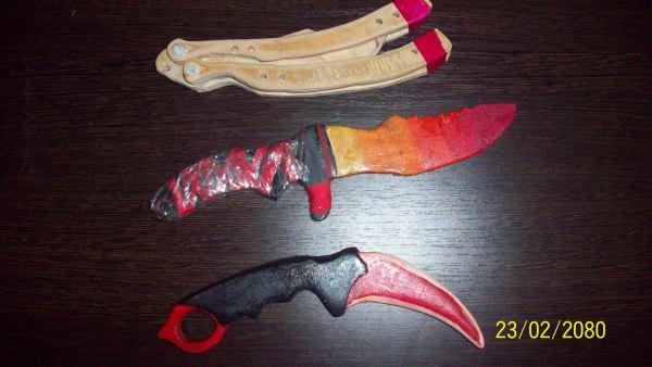 Ножи из дерева
