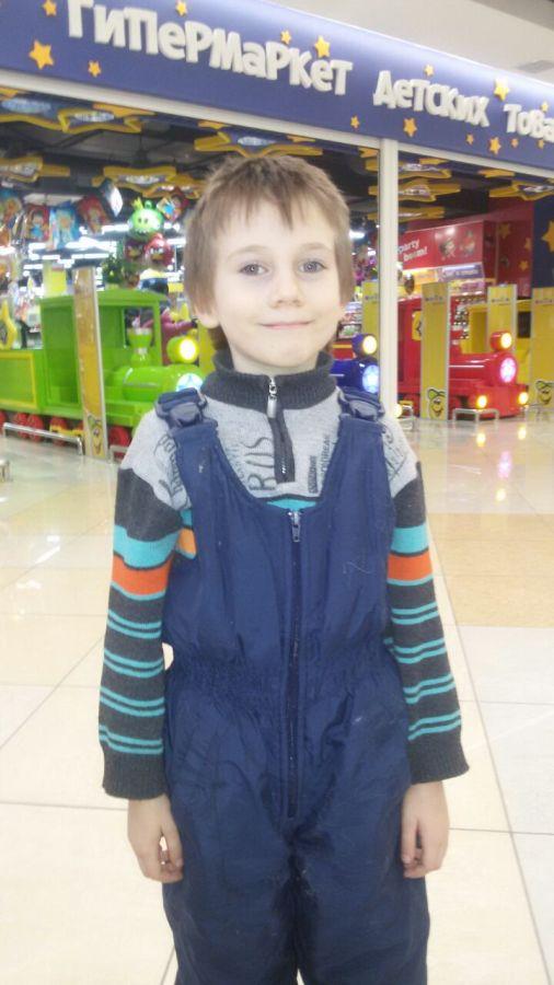 Егор в ТЦ