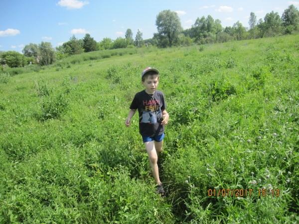 Егор на поляне