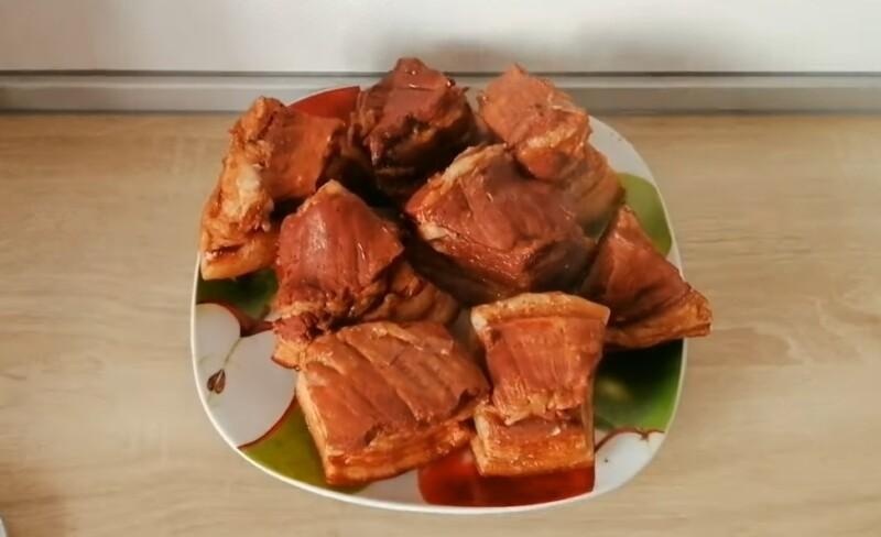 Cách nấu chất béo trong trấu hành tây với tỏi - công thức từng bước