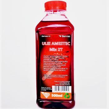 ulei rosu de amestec 2T pentru drujba Domadi Tools
