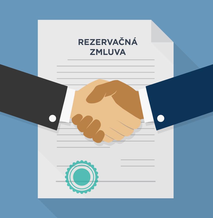 rezervačná zmluva