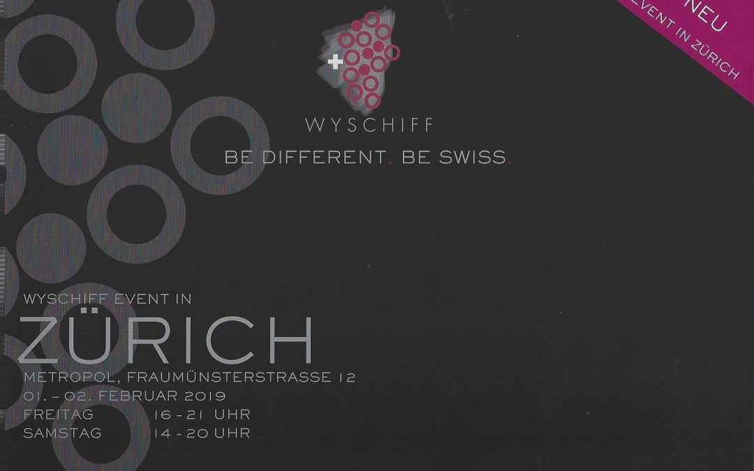 Wyschiff Zurich – 1er & 2 février 2019