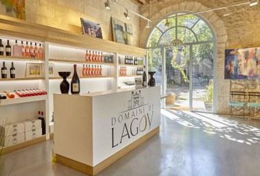 La boutique Domaine de Lagoy à St Rémy de Provence