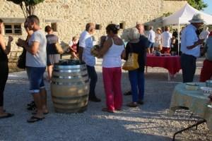 Vernissage Gérard BRAGUY au Mas Caron 26 juin 2018 (4)