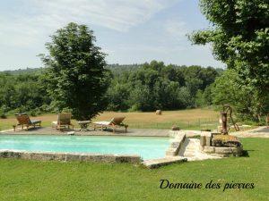 festival avignon grand gîte bédoin location vacances mont ventoux chevaux nature campagne piscine