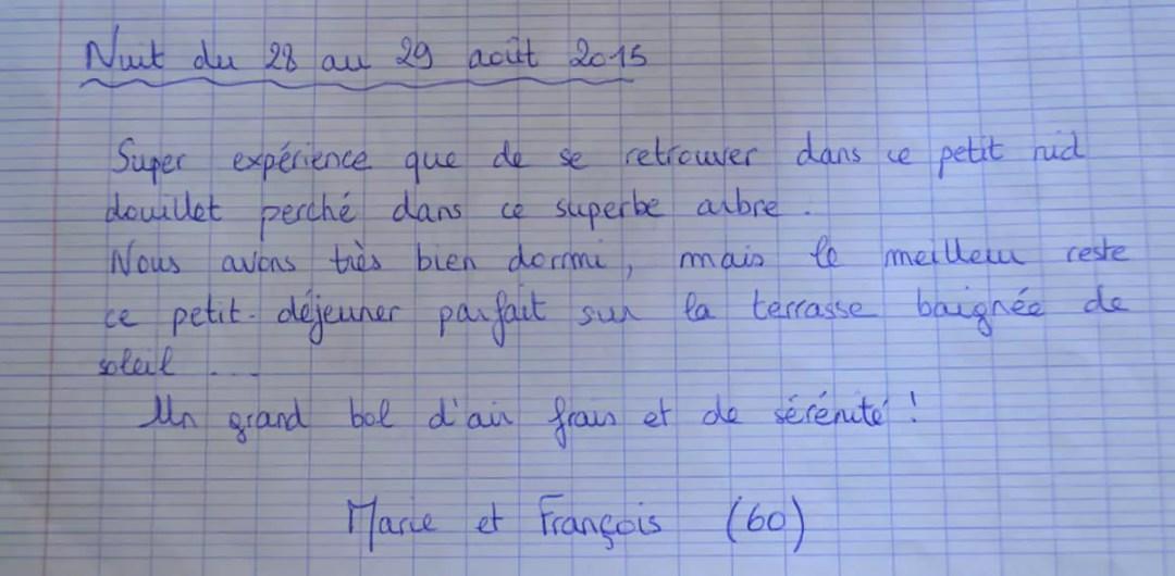 Domaine des Vaulx - nuit du 28 au 29 août 2015