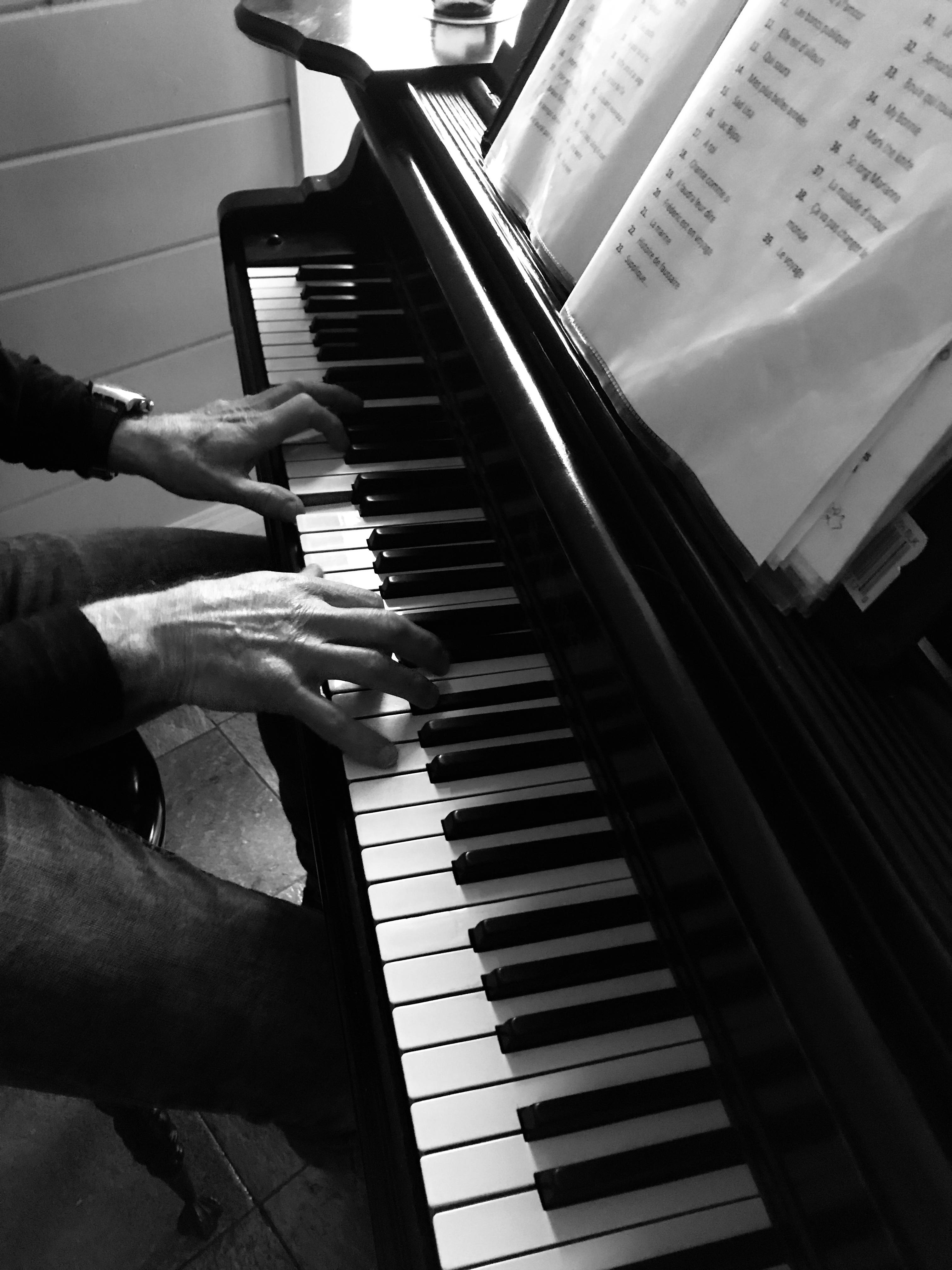 Piano au menu les lundis et samedis d'été