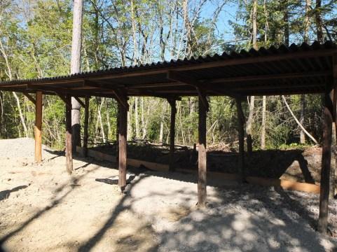 Construction Wood Storage