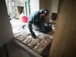 Cleaning Cobblestones