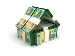 Real Estate Concept Australian Dollar