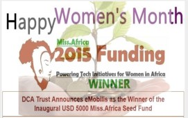 eMobilis wins inaugural USD 5000 Miss.Africa Seed Fund as two other African Initiatives benefit