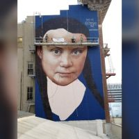 Greta Thunberg, teen climate activist, is getting a huge mural in downtown San Francisco — WPIX 11 New York