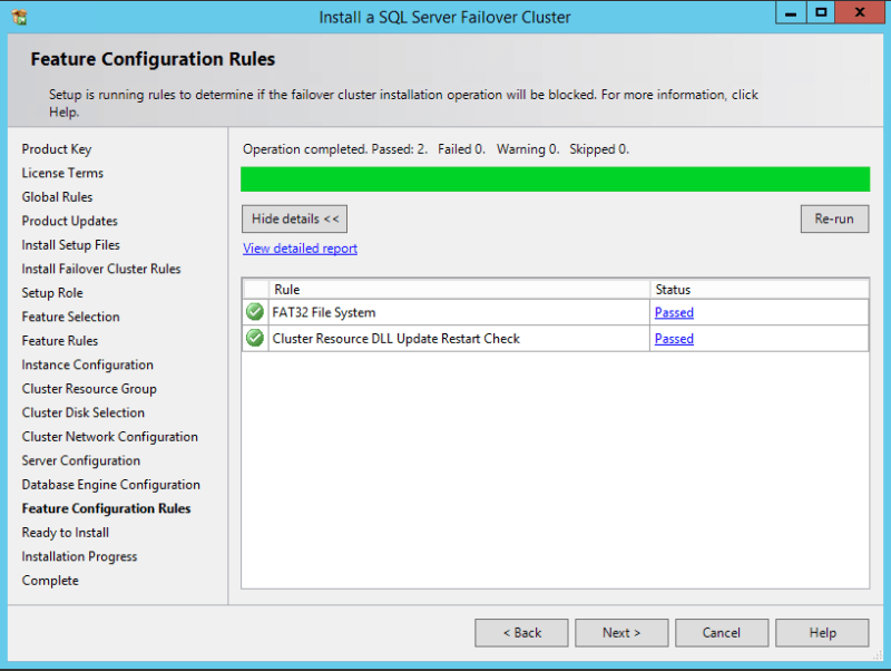 domalab.com SQL first node feature configuration rules