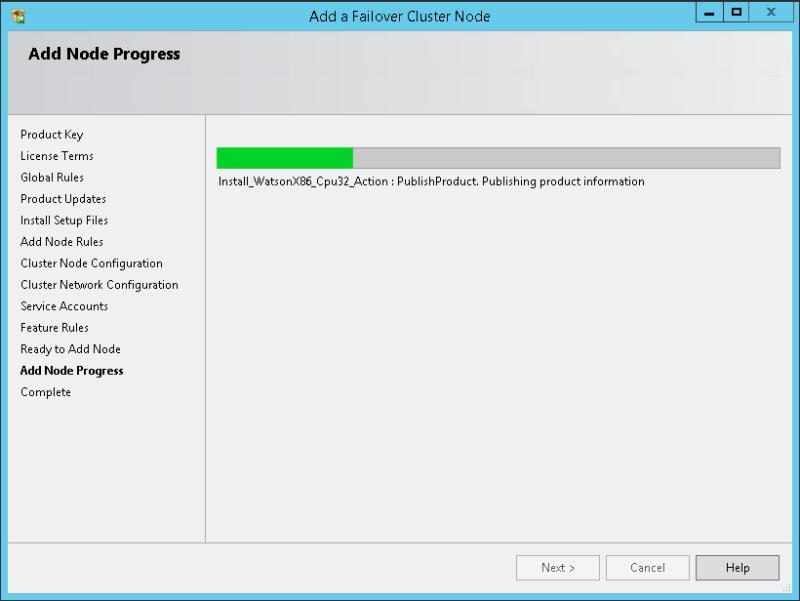 domalab.com SQL second node progress